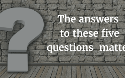 5 Questions You Must Answer for Success