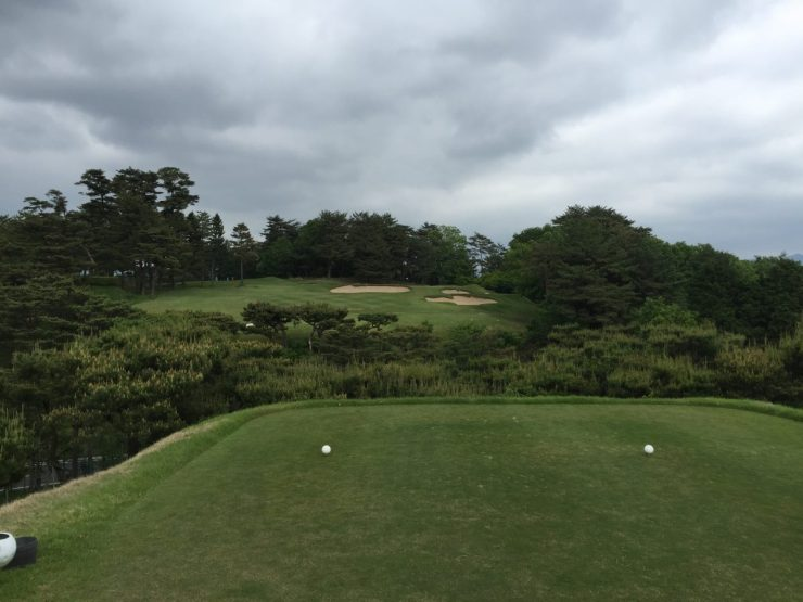 15th hole at Naruo Golf Club