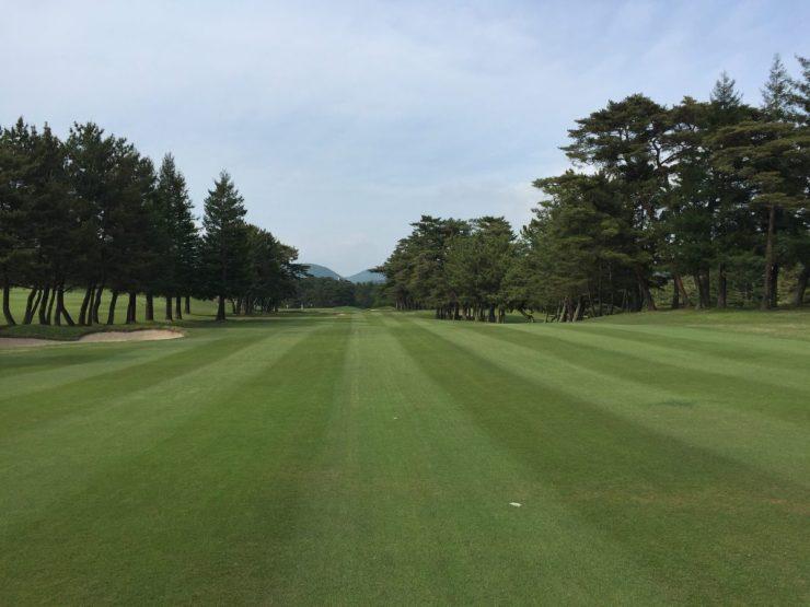 18th hole at Naruo Golf Club