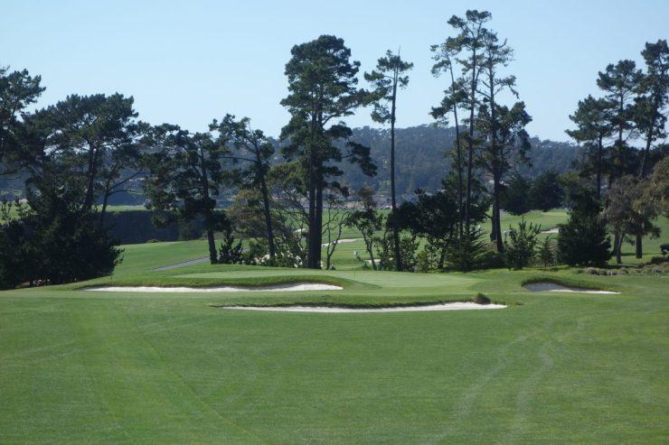 Par 3 12th at Pebble Beach golf links
