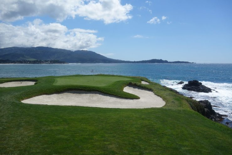 Par 3, 7th at Pebble Beach golf links