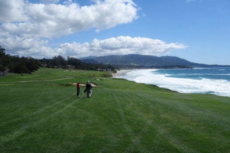 9th hole at Pebble Beach golf links