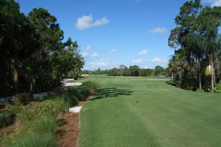 Hole 3, Par 4, 411m at Floridan National Golf Club