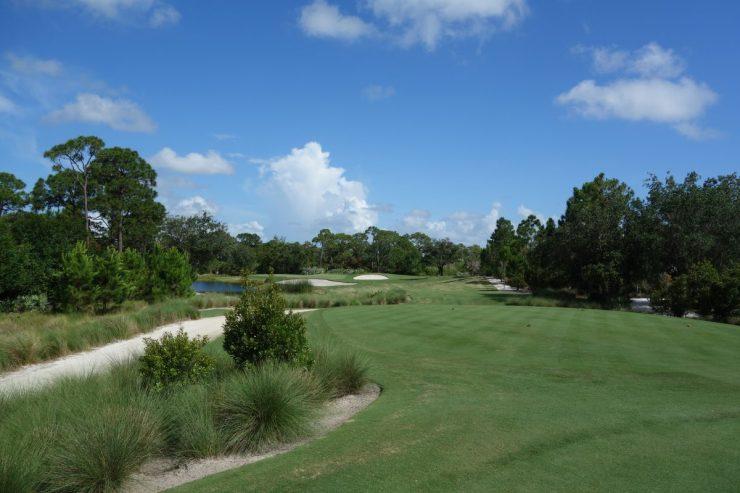 Hole 4, Par 3, 159m at Floridan National Golf Club