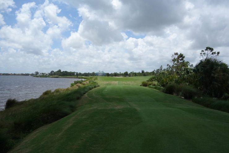 18th, Par 4, 395m at Floridan National Golf Club