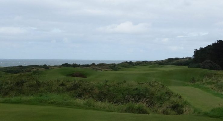 3rd hole at Royal Portrush Dunluce links