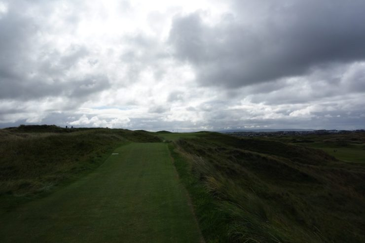 14th par 3 at Royal Portrush Dunluce links
