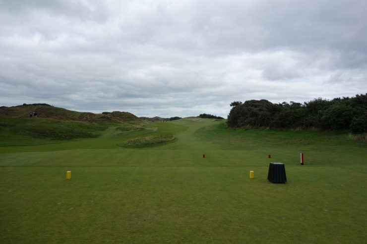 First hole at Royal County Down