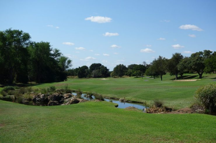 hole 13 at Leopard Creek