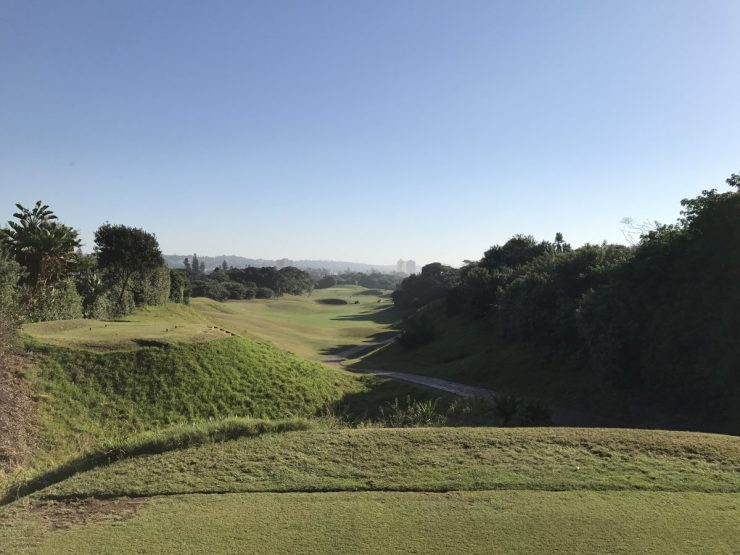 3rd hole at Durban Country Club