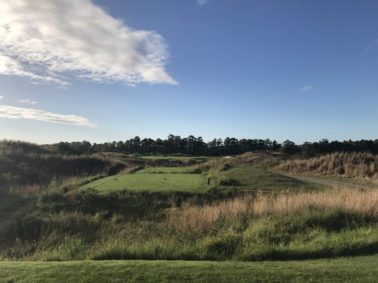first hole at fancourt links