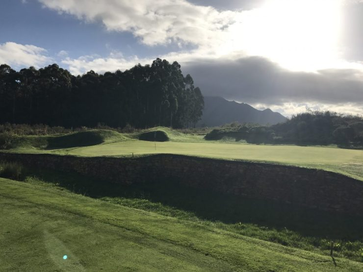 3rd hole at fancourt links