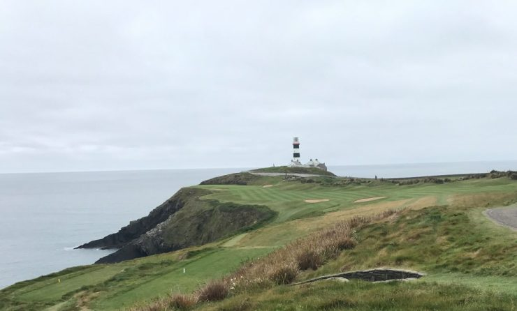 Old head golf links lighthouse