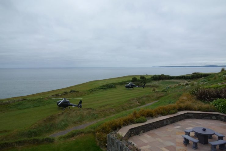 arrive in style at Old head golf links