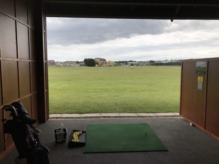driving range at St. Andrews