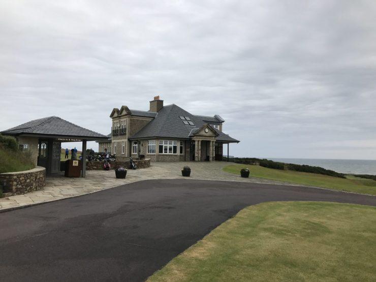 clubhouse at kingbarns golf links