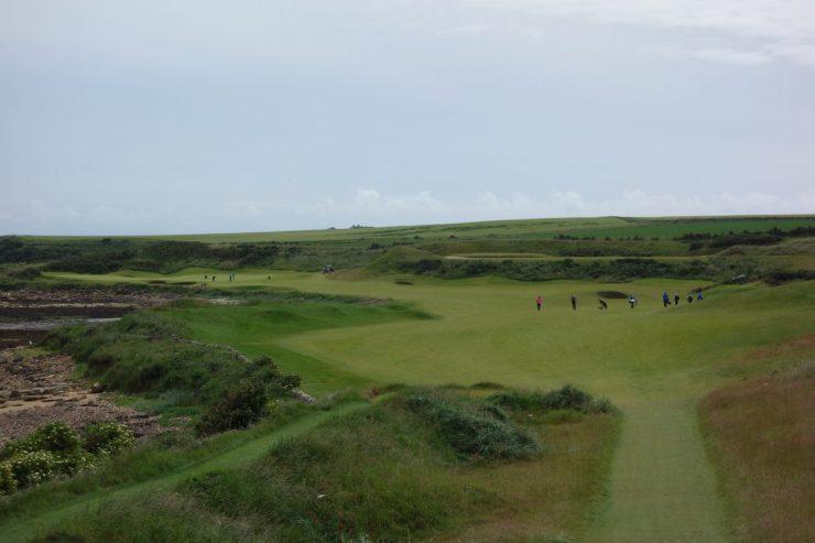 hole 12 at kingbarns golf links