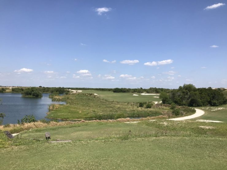 2nd hole streamsong blue
