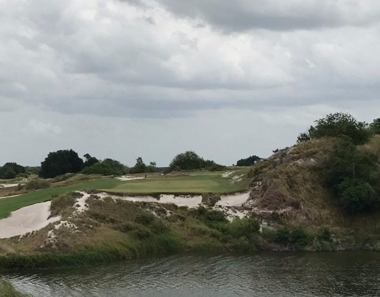 16th hole at Streamsong red
