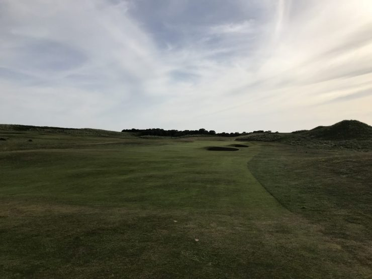 12th hole gullane