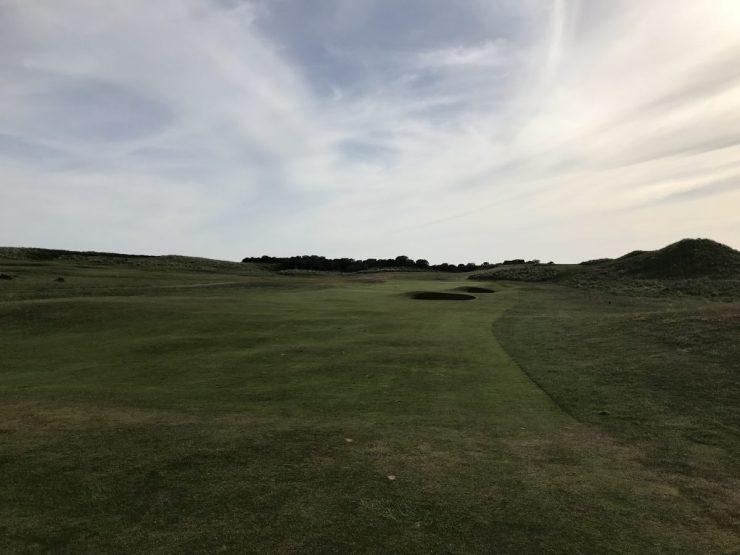 12th hole gullane