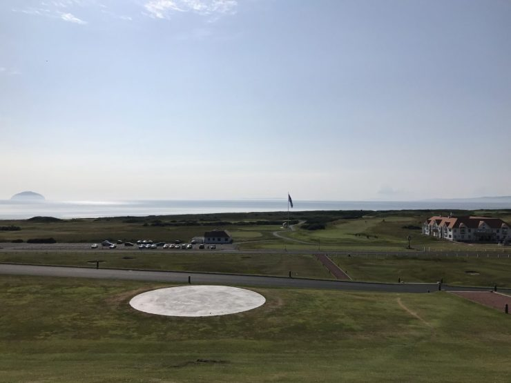 Beautiful Seaview from Turnberry hotel
