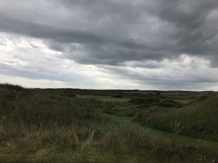 Hole 2 Trump International Scotland