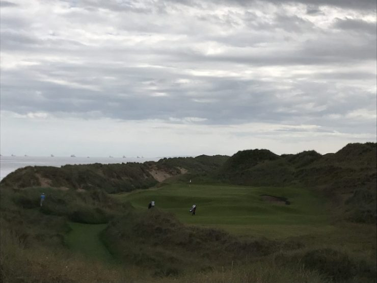 Trump International Scotland hole 3