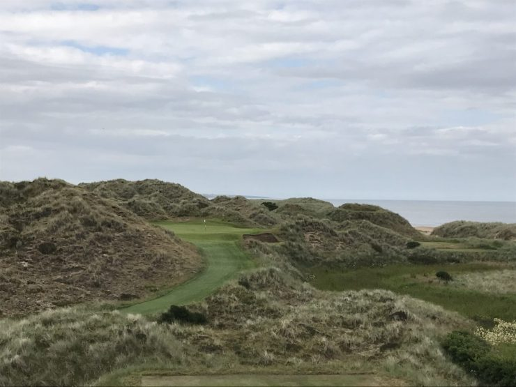 Trump International Scotland hole 6