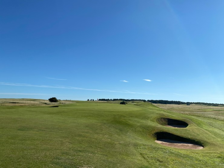 4th green at muirfield golf