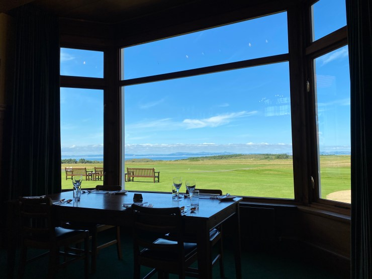 muirfield views from clubhouse