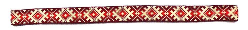 Пояс с национальный эстонским орнаментом