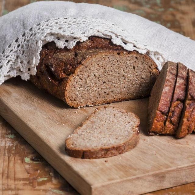 Ржаной хлеб на закваске (Rukkileib)