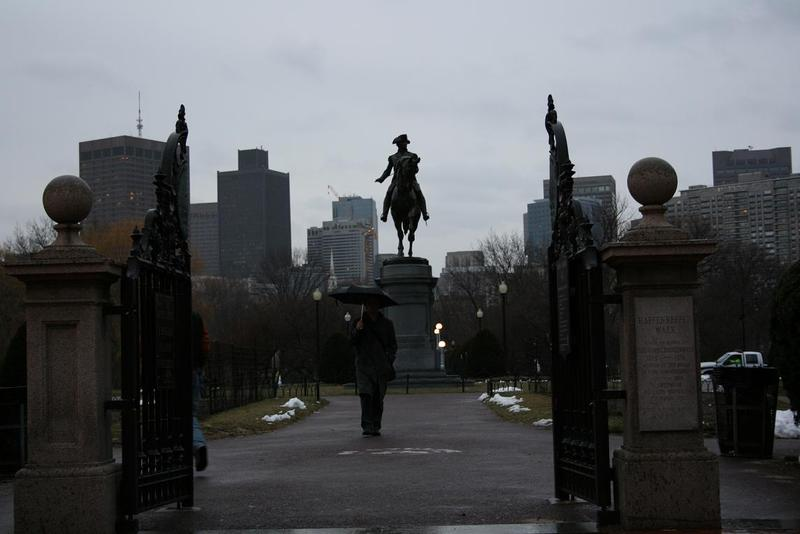 What does one do on a rainy Saturday in Boston? TELL ME!