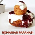 Romanian papanasi recipe with sour cream and jam, or fried no-yeast cheese doughnuts, a dessert that tastes like heaven, and we are so proud of. It only takes a few ingredients to put it together, but be sure that everybody will fall in love with them.
