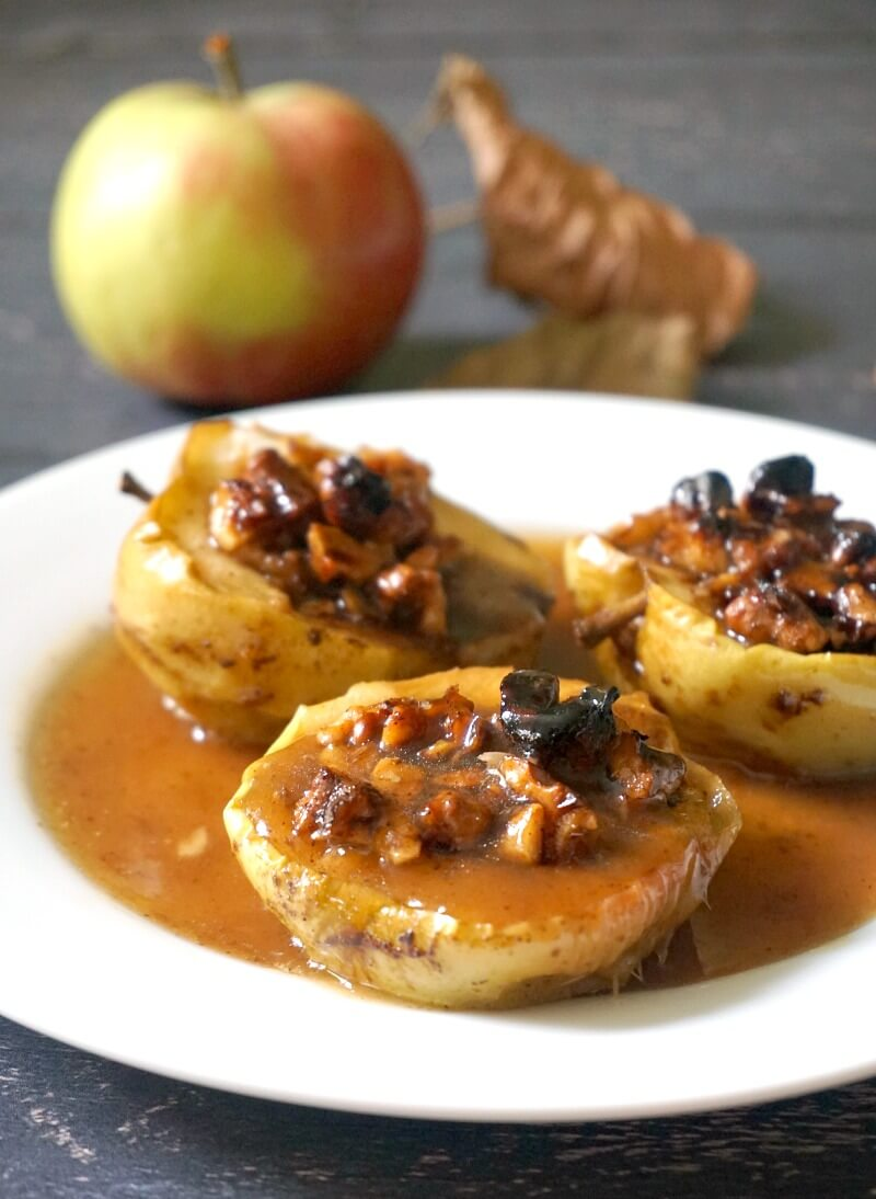 Stuffed Baked Apple Halves My Gorgeous Recipes