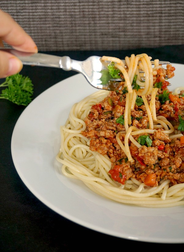 Healthy Turkey Bolognese Recipe - My Gorgeous Recipes