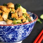 Tofu broccoli stir fry recipe with basmati rice