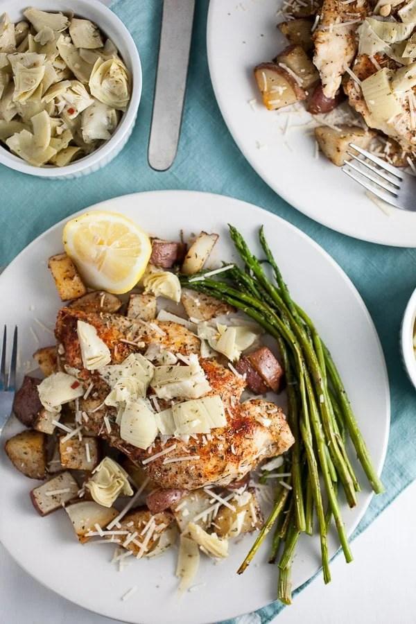 Sheet Pan Mediterranean Chicken and Potatoes