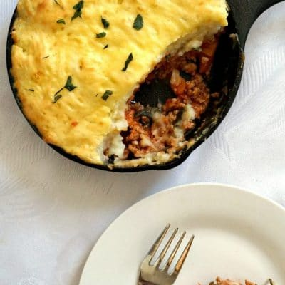 Skillet Turkey Cottage Pie