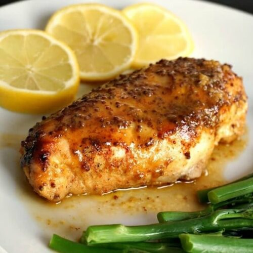 Baked Honey Mustard Chicken Breast With Lemon My Gorgeous Recipes