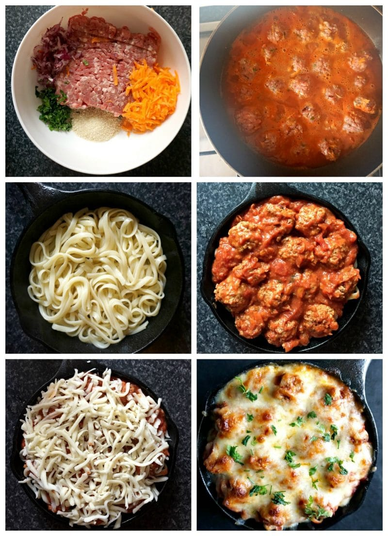 Baked Spaghetti And Meatballs Casserole My Gorgeous Recipes