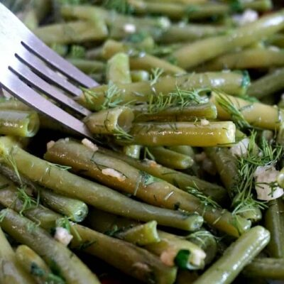 Last-Minute Sautéed Green Beans with Garlic
