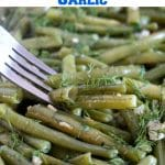 Healthy Sautéed Green Beans with Garlic, a delicious side dish that can be prepared quickly before your meal is ready. I guarantee you that these green beans are going to be a hit this Thanksgiving.