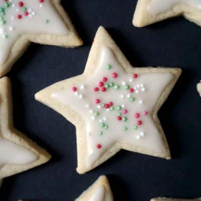 Christmas Iced Sugar Cookies