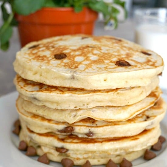 Banana Chocolate Chip Pancakes My Gorgeous Recipes