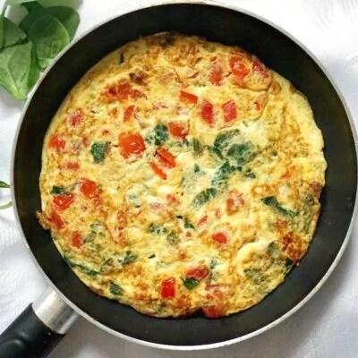 World's Best Vegetarian Omelette