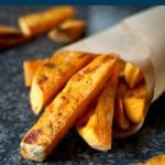 Learn how to make crispy baked sweet potato fries that are not only super delicious, but also healthy. A great side side or just a nutritious snack whenever hunger strikes.