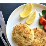 Healthy Baked Salmon Patties coated in breadcrumbs, a delicious appetizer or snack in between meals. Kids will love a few in their school lunch box, and you will be happy that these nutritious and filling patties are a big hit with the whole family.