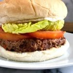 Vegan Black Bean Burgers, the best meat-free burgers that can be ready in well under 30 minutes.